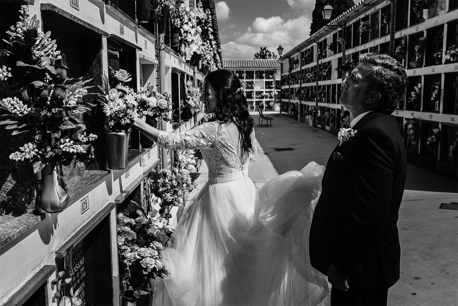 Reportaje de boda natural Onda